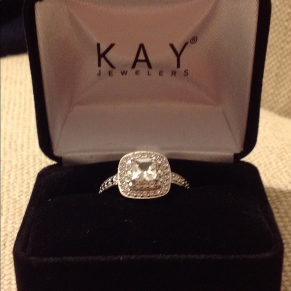 40d75c236d4775 Kay Jewelers Jewelry | Sterling Silver Labcreated White Sapphire ...
